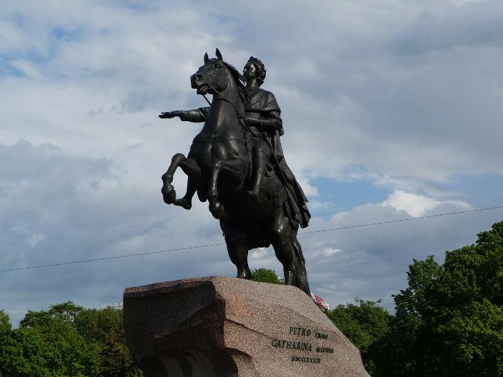 символ Санкт-Петербурга медный всадник